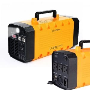 7lb 500W 288WH Backup Portable Generator Solar Power Source Power Inverter UPS 26000mah