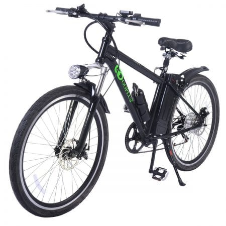 "Goplus 26"" 250W Electric Bicycle Sports Mountain Bike Variable Speed 36V Lithium Battery w/Cup Holder"