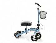 Swivelmate Knee Walker with Basket, Steerable 90 Degree Turning Radius, Premium Quality, Extra Thick Knee Pad