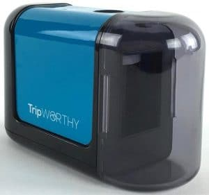 TripWorthy, Electric Pencil Sharpener - Battery Operated (No Cord)