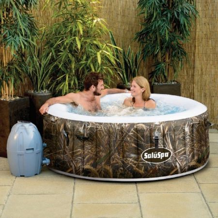 Realtree, SaluSpa Realtree AirJet Inflatable Hot Tub Spa