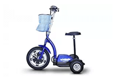 E-Wheels, EW-18 Stand n Ride Scooter 3-Wheel Electric Scooter