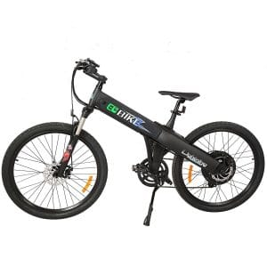 New Electric Bike Matt Black Electric Bicycle Mountain 500w Lithium Battery City Ebike, Electric Mountain Bikes