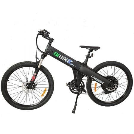 New Electric Bike Matt Black Electric Bicycle Mountain 500w Lithium Battery City Ebike