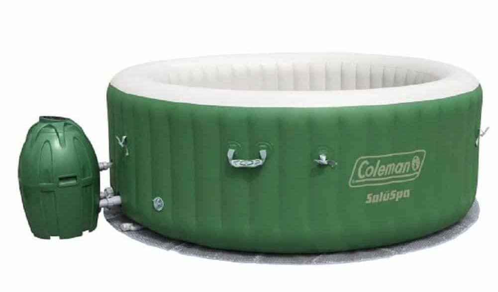 "Coleman SaluSpa 6-Person Inflatable Spa Hot Tub (77""x 28"")"