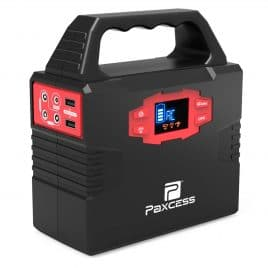 100-Watt Portable Generator Power Inverter, 40800mAh 150Wh Battery Pack UPS Power Supply Charged