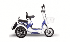 E-Wheels - EW-27 Crossover Pre-Mobility Scooter - 3-Wheel Electric Scooter