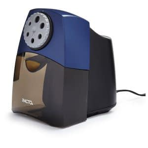X-ACTO TeacherPro Classroom Electric Pencil Sharpener, SmartStop