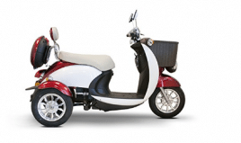 E-Wheels - EW-11 Sport Euro Type Scooter - 3-Wheel Electric Scooter