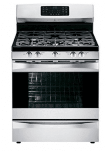 Kenmore Elite 5.6 cu. Ft. Self Clean Gas Range with True Convection in Stainless Steel