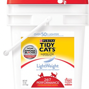 Purina Tidy Cats LightWeight 24/7 Performance Clumping Litter for Multiple Cats