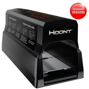 Hoont Powerful Electronic Rodent Trap - Clean and Humane Extermination of Mice