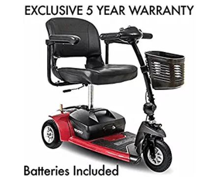 Go-Go Ultra X 3-Wheel Travel Mobility Scooter Including 5 Year Ext. Warr.