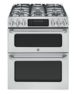"GE Cafe CGS990SETSS 30"" Freestanding Gas Range with 5 Sealed Burners"