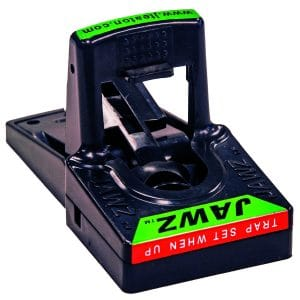 JT Eaton 409BULK Jawz Plastic Mouse Trap, For Solid or Liquid Bait (Pack of 24)