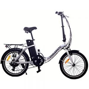 Cyclamatic CX2 Bicycle Electric Foldaway Bike with Lithium-Ion Battery - Electric Mountain Bikes