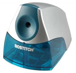 Bostitch Office, Bostitch Personal Electric Pencil Sharpener, Blue (EPS4-BLUE)