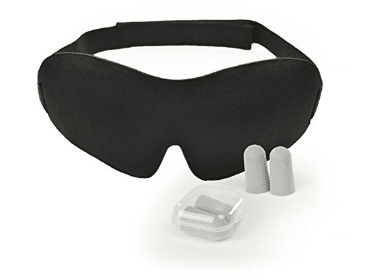 Luxury Sleep Mask with Ear Plugs