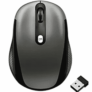 JETech 2.4Ghz Wireless Mobile Optical Mouse with 3 CPI Levels and USB Wireless Receiver