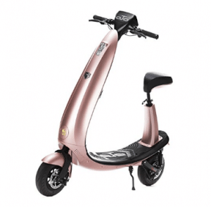 OjO Commuter Scooter for Adults - Eco-friendly, Electric & Smart - Rose Gold
