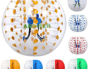 Ancheer Inflatable Bumper Bubble Ball Human Knocker Body Zorb Ball Bubble Football Transparency