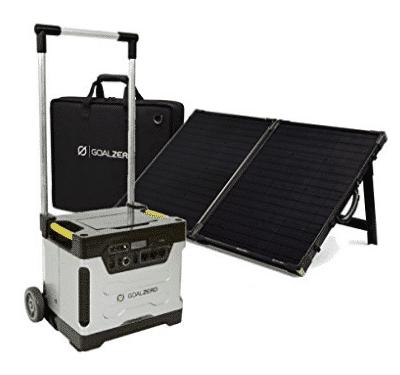 Goal Zero Yeti 1250 with Boulder 100 Watt Briefcase Solar Panel Kit - Best Solar Generators