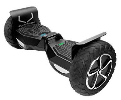SWAGTRON T6 Off-Road Hoverboard – First in the World to Handle Over 250 LBS