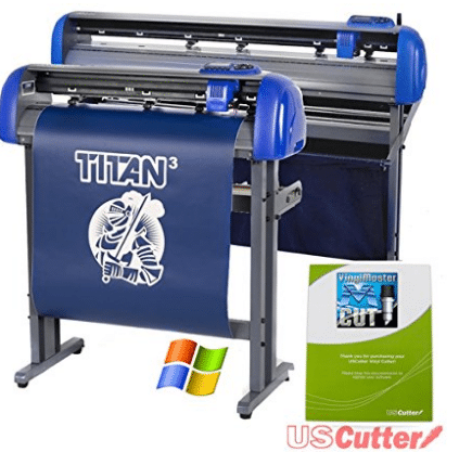 "USCutter, 28"" USCutter TITAN 3 Vinyl Cutter with Servo Motor and ARMS Contour Cutting Plus Design/Cut Software"