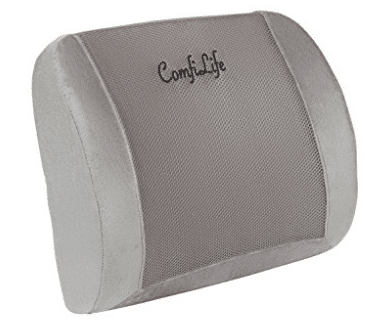 ComfiLife Lumbar Support Back Pillow Office Chair and Car Seat Cushion
