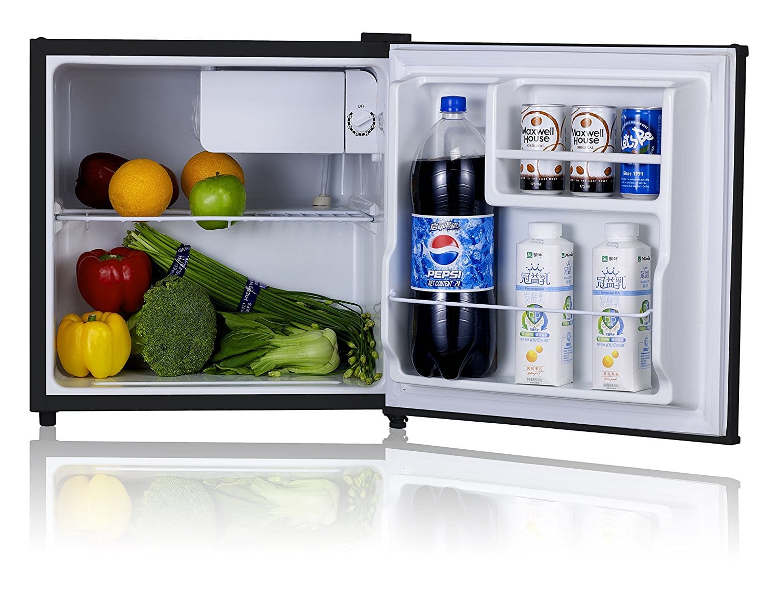 Midea stainless steel compact single reversible door upright freezers - Midea Stainless Steel Compact Single Reversible Door Upright Freezers 20