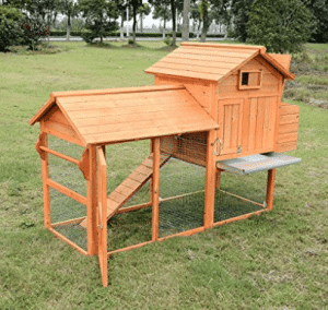Pawhut Deluxe Backyard Chicken Coop / Hen House w/ Outdoor Run - Best Chicken Coops