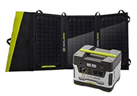 Goal Zero Yeti 400 Solar Generator Kit with Nomad 20 Solar Panel - Best Solar Generators