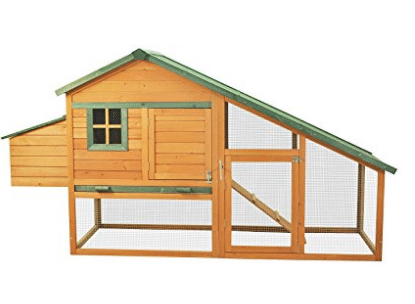 Pawhut Wooden Backyard Slant Roof Hen House Chicken Coop - Best Chicken Coops