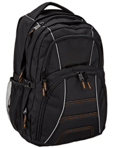 AmazonBasics Backpack for Laptops up to 17-inches