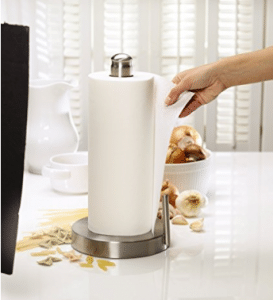 Kamenstein Stainless Steel Perfect Tear Paper Towel Holder