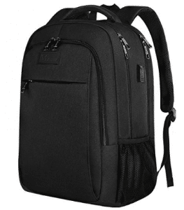 Anti Theft Laptop Backpack, Business Travel Laptop Backpack with USB Charging Port for Women and Men