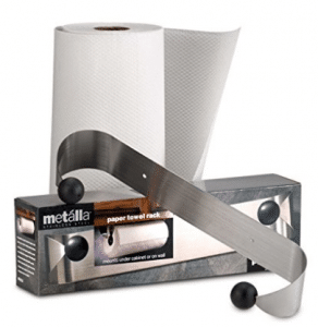 Prodyne M-913 Stainless Steel Under Cabinet Paper Towel Holder