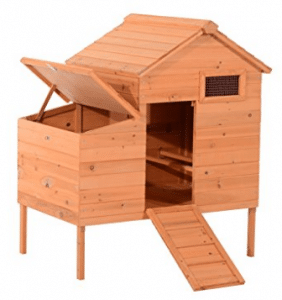 Pawhut Outdoor Raised Leg Hen House Chicken Coop - Best Chicken Coops