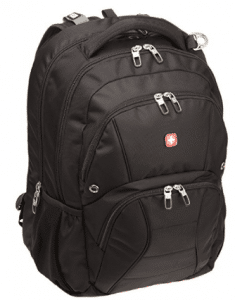 SwissGear SA1908 Black TSA Friendly ScanSmart Laptop Computer Backpack