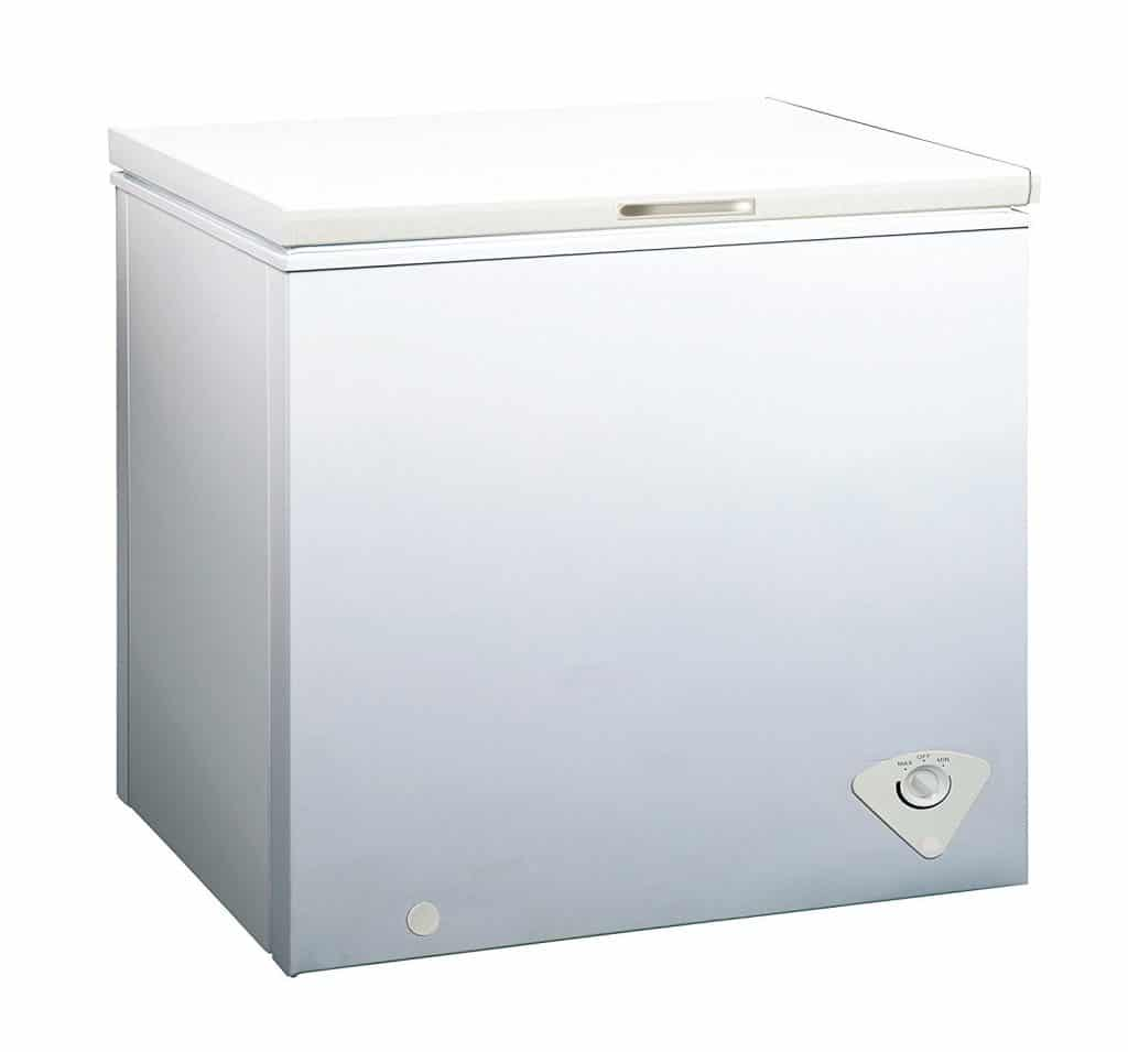 Midea WHS-258C1 Single Door Chest Freezer, 7.0 Cubic Feet