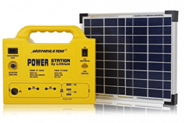 Solar Generator Portable (128Wh - 40,000mAh - 140W) LiFePo4 Battery - Best Solar Generators
