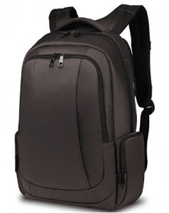 Uoobag KT-01 Slim Laptop Backpack Water-resistant Anti-theft Bag 15.6 Dark Coffee
