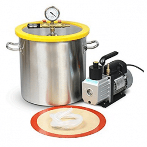 Hydrion Scientific 5 Gallon Vacuum Degassing Chamber Kit with 3 CFM Pump
