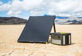 Goal Zero Yeti 400 Lithium Solar Generator Kit with Boulder 50 Solar Panel - Best Solar Generators