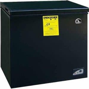 Igloo FRF454-B-BLACK 5.1 cu. ft. Chest Freezer, Energy Star, Black