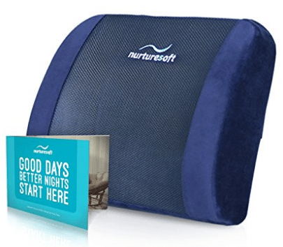 NurtureSoft Orthopedic Lumbar Support Pillow