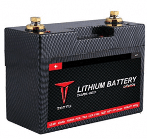 Tattu LiFePO4 12V 8.6A Motorsport Street Bike Replacement Lithium Iron Phosphate Starting Battery for Power Sports Motorcycles Racing Lawn Mowers Scooters Utility Vehicles and Dirt Bikes