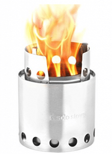Solo Stove Lite - Compact Wood Burning Backpacking Stove - Wood Burning Stoves