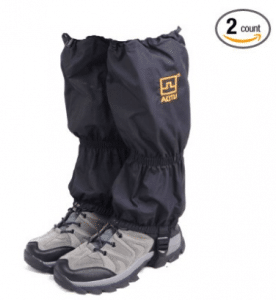 Triwonder Snow Leg Gaiters Waterproof Boot Gaiters Leggings Cover for Hiking Walking Climbing Hunting Cycling