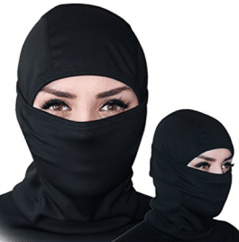 Balaclava - Windproof Ski Mask - Cold Weather Face Mask Motorcycle Neck Warmer or Tactical Balaclava Hood - Winter Face Masks